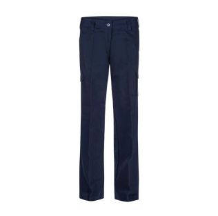 LADIES MID WEIGHT COTTON CARGO WORK PANT