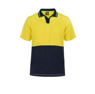 HI VIS FOOD INDUSTRY S/S MICROMESH POLO