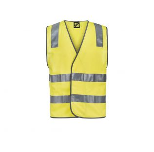 Unisex Hi Vis Safety Vest with Shoulder Pattern Reflective Tape