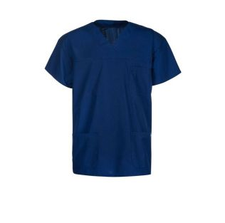 Unisex Medical Scrub Top with Pockets
