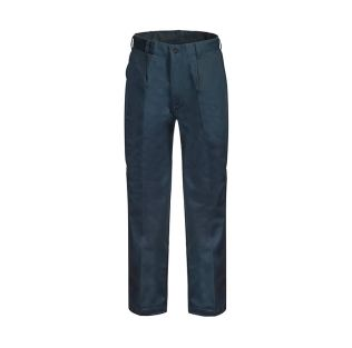 CLASSIC SINGLE PLEAT COTTON WORK PANT