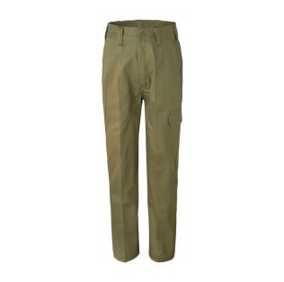 KIDS MIDWEIGHT COTTON CARGO WORK PANT
