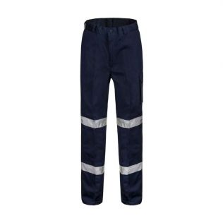 MODERN FIT MID-WEIGHT COTTON CARGO WORK PANT WITH BIO-MOTION TAPE
