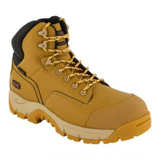Magnum Precision Max Side Zip Waterproof I-Shield Work Boot - Wheat