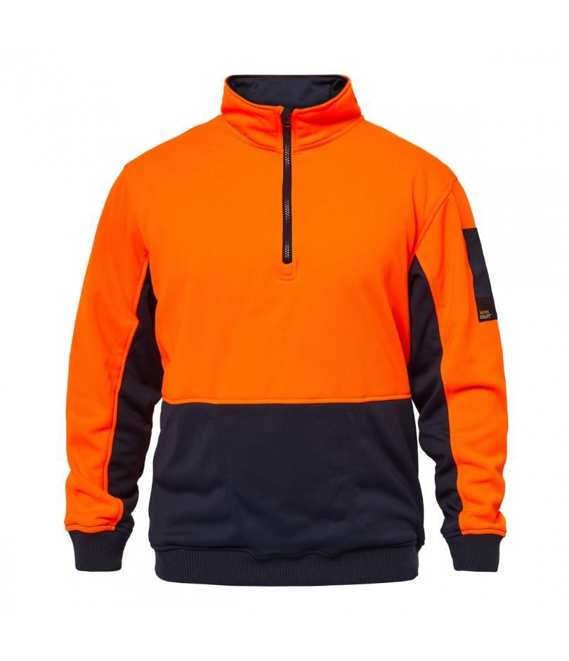 CREST Hi Vis Half Zip Pullover